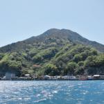 町のシンボル「神峰山」(広報大崎上島 平成29年5月号)