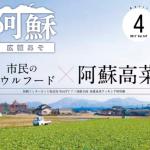 阿蘇のソウルフード「阿蘇高菜」(広報あそ 平成29年4月号)