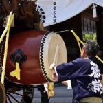 心に響く太鼓の音色(広報くわな 平成29年7月号)